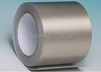 1x 50mm* 20M  Electrically Cloth Conductive  Tapes for mobilephone PC Tablet PAD PCB Repair EMI Shielding 1x 55mm 20m electrically cloth conductive tapes for mobilephone pc tablet pad pcb repair ectrostatic shielding single sticky