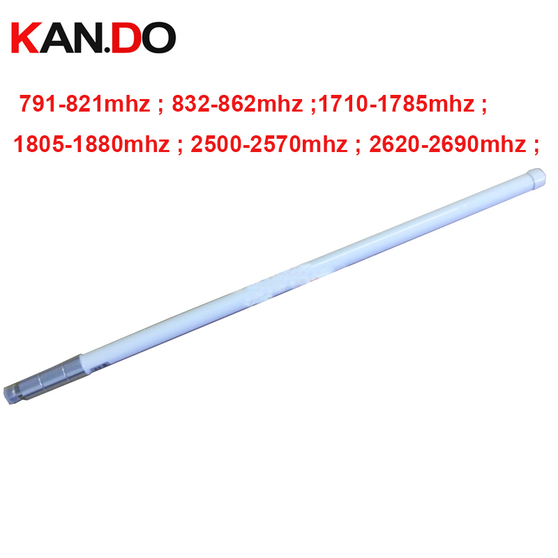 806-910mhz &1710-2700mhz 4G antenna 6.5dbi gain 4G booster antenna for 4G repeater N female connector GLASS PIPE LTE antenna