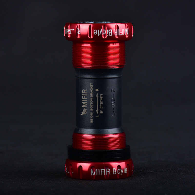 MIFIR алюминиевый сплав штопор стиль нижние винты-держатели пресс-в стиле BB для Shimano Prowheel 24 мм Crankset 68 мм 73 мм Рамка оболочки