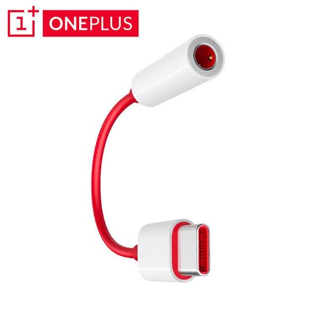 Originele oneplus 6 T 7 Pro usb Type C Naar 3.5mm Koptelefoon Jack Adapter Aux Audio Voor een plus 7 1 + 6 t usb-c music converter kabel