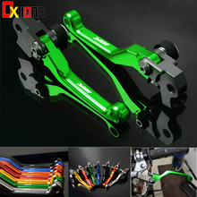 цена на CNC Pivot Brake Clutch Levers Dirt Bike  For Yamaha WR 250F WR250F WR 250 F WR250 F 2001-2015 2002 2003 2004 2005 Motocross