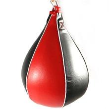 New Hanging Hook Boxing PU Faux Leather Punch Punching Bag Tumbler Sandbag Speed Training Ball стоимость