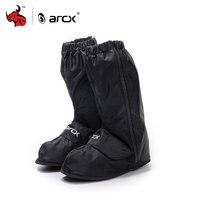 ARCX Motorcycle Waterproof Rain Shoes Non slip Black Moto Rain Shoes Outdoor Waterproof Shoe Cover Rainy Shoes For Men