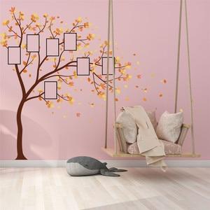 Image 3 - 家族写真 Diy の写真の木携帯クリエイティブ壁貼付装飾壁のステッカー窓 DecorRoom カールポスター