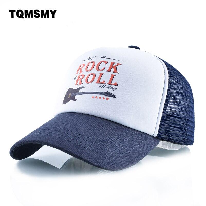 High quality   Baseball     cap   men Rock guitar bone Hip Hop hat women Snapback   Caps   Outdoor sports Breathable mesh sun hats for women