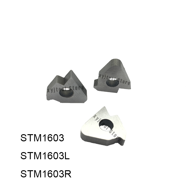 10PCS Hard Alloy Shim STM1603 STM1603L STM1603R High Quality Carbide Material Lathe Tool Holder