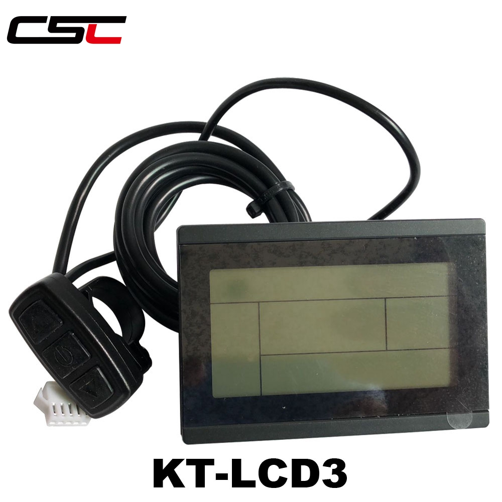 Lcd3 Ktlcd3 Control Panel Lcd Display Electric Bicycle Bike Parts For Kt Controller Ebike 24v 36v 48v Intelligent Black Kt Conversion Kits Automobiles & Motorcycles