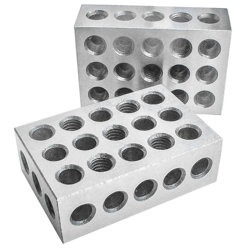 Hardened Steel Blocks 23 Holes Parallel Clamping Block Lathe Tools Precision 0.0002Mm For Machine Tool