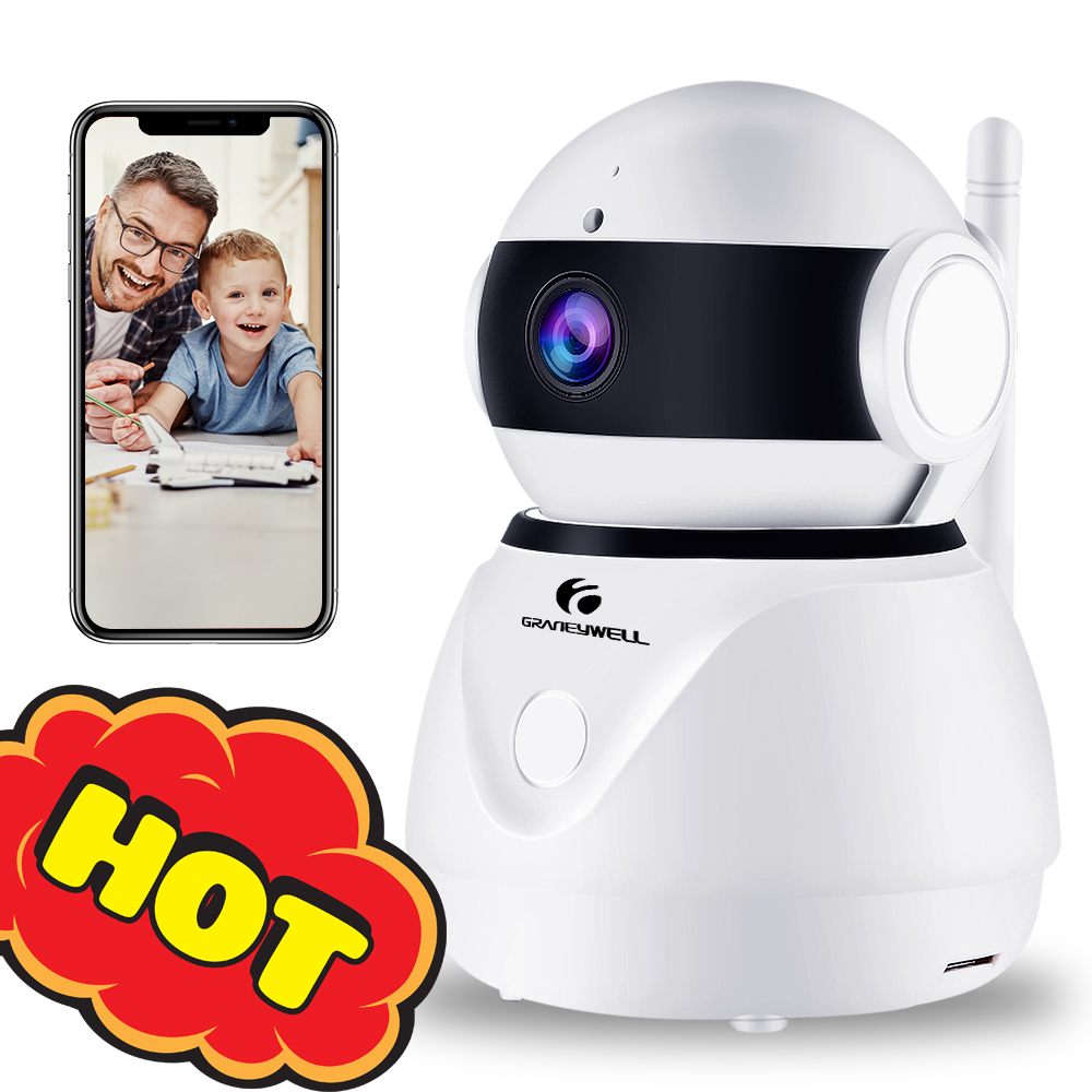 Security Camera 1080P WiFi Camera Smart Night Vision 2MP CCTV Camera Baby Monitor Home Security Video Surveillance Camera Security Camera 1080P WiFi Camera Smart Night Vision 2MP CCTV Camera Baby Monitor Home Security Video Surveillance Camera