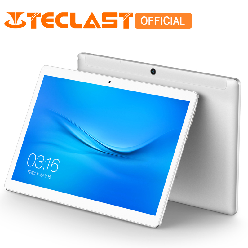 Teclast A10S MTK 8163 Quad Core 1.3GHz 2GB RAM 32GB eMMC Android 7.0 10.1 inch 1920*1200 Dual Cameras Dual WiFi GPS Tablet PC homtom ht17 5 5 inch smartphone quad core phones android 6 0 dual cameras 4g