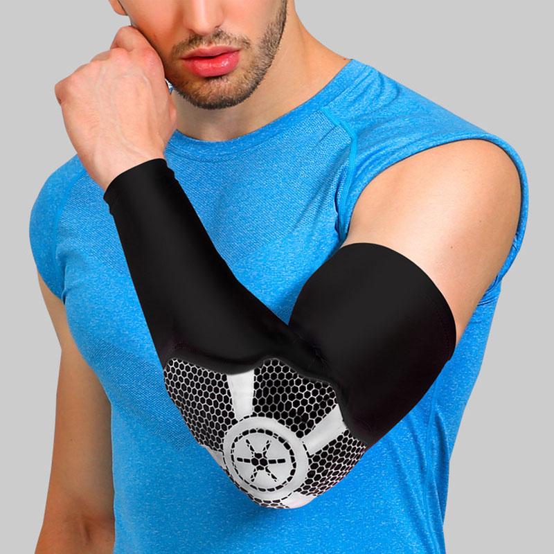 Tcare 1 шт. наколенника Поддержка рукавом для артрит, ACL, бег, Баскетбол, разрыв мениска, спортивные, Спортивная. открыть коленной чашечки протек...