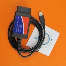 Elm327 v1.5 usb интерфейс obd2 диагностический сканер автомобилей Универсальный elm 327 usb