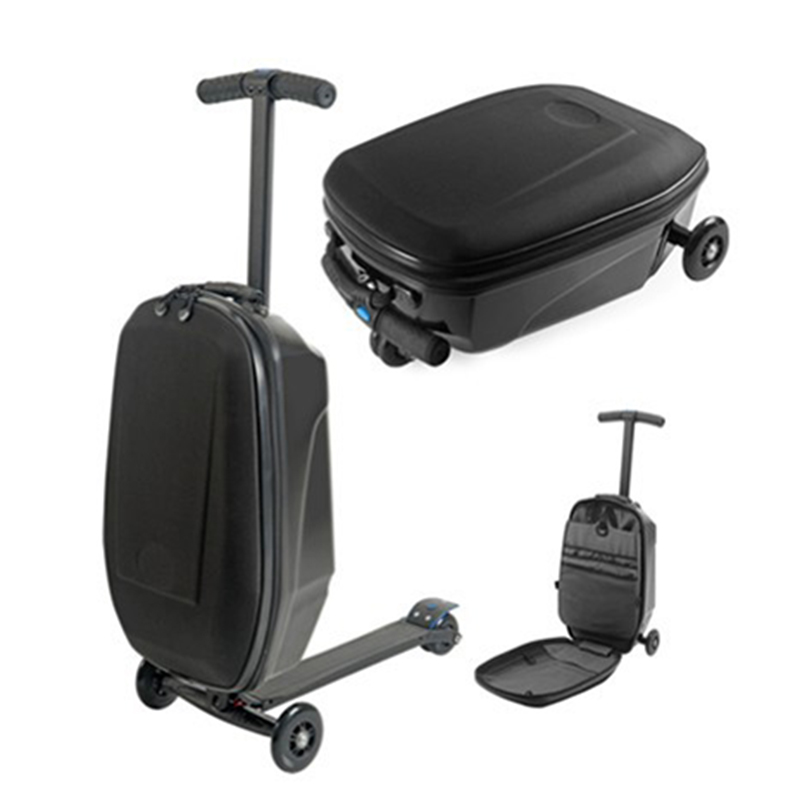 Letrend Business Skateboard Rolling Luggage Spinner Students Oxford Trolley Suitcases Wheel Travel Bags laptop bag letrend waterproof travel bag large capacity folding suitcases wheel trolley women rolling luggage handbag