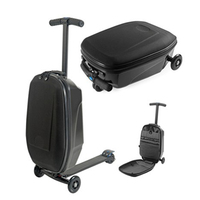 Letrend Business Skateboard Rolling Luggage Spinner Students Oxford Trolley Suitcases Wheel Travel Bags laptop bag