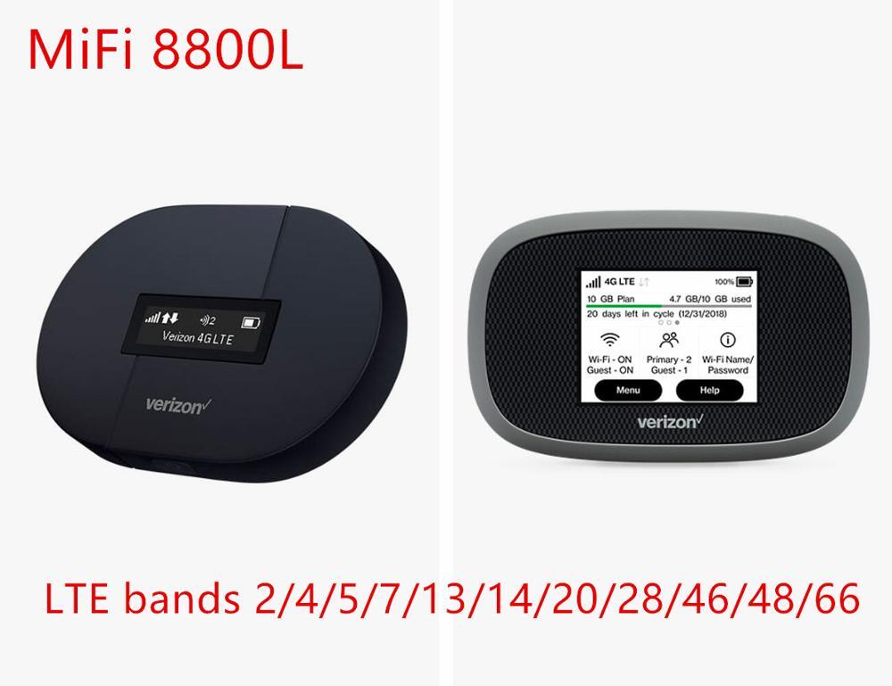 Débloqué Novatel MiFi 8800L Verizon Jetpack MiFi8800l insee go 5 ghz mifi 4g lte CAT9 poche 3g wifi routeur portable wifi 4g