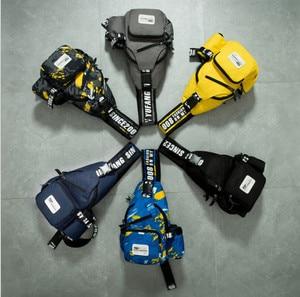 Image 1 - Men casual chest bag Oxford waterproof shoulder Messenger chest bags Small Sling Bags man Women Shoulder Crossbody Bag Back Pack