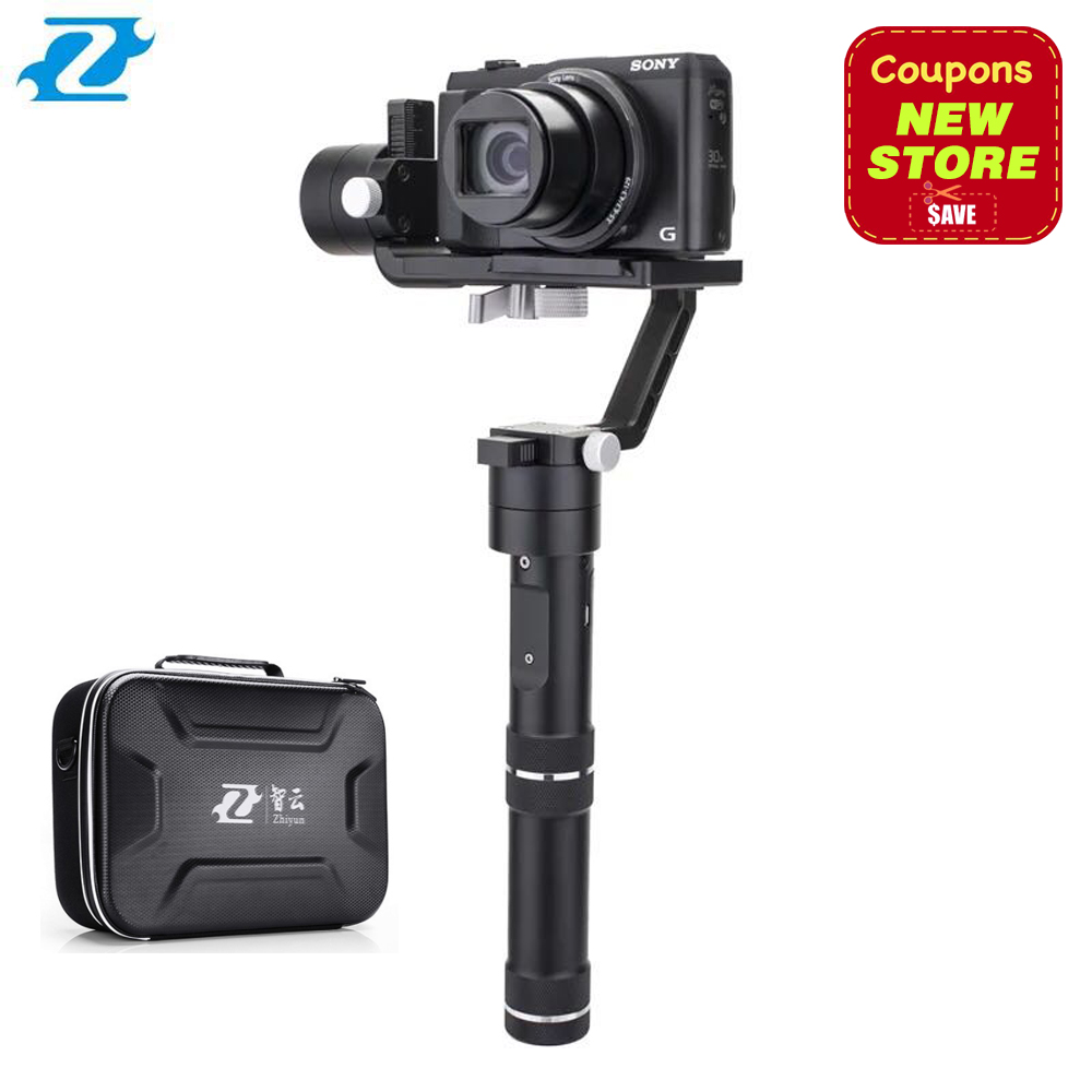 Zhiyun Crane M Crane-M 3-axis Brushless Handle Gimbal Stabilizer for Smartphone Mirroless DSLR Gopro 125g-650g