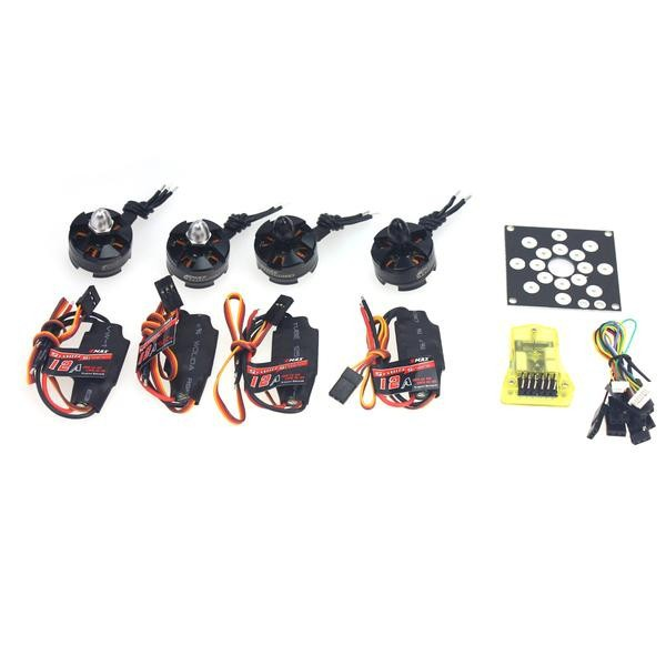 JMT RC Helicopter Kit KV2300 Brushless Motor +12A ESC+ Straight Pin Flight Control for 250 Helicopter DIY electronic components set kv2300 brushless motor 12a esc straight pin flight control open source for 250 helicopter f12065 b