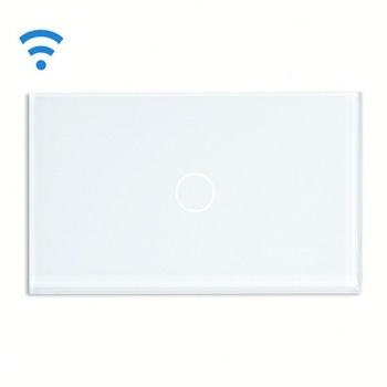 Bseed Wireless Touch Switch 1 Gang 2 Way Touch Dimmer With Remote Control White Dimmable Switch Us Au Eu Uk eu us smart home remote touch switch 1 gang 1 way itead sonoff crystal glass panel touch switch touch switch wifi led backlight