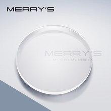MERRYS receta de la serie 1,56 de 1,61, 1,67 de 1,74 CR-39 resina gafas lentes asféricas miopía hipermetropía presbicia óptica lente