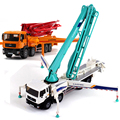 KAIDIWEI 1:55 Concrete Pump Truck Diecast Car Model Car Collection Gift for Kids Toy