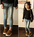 free shipping New spring Girls jeans kids clothing,children jeans Kids jeans ,fashion jeans ,children casual pants 3-8Y