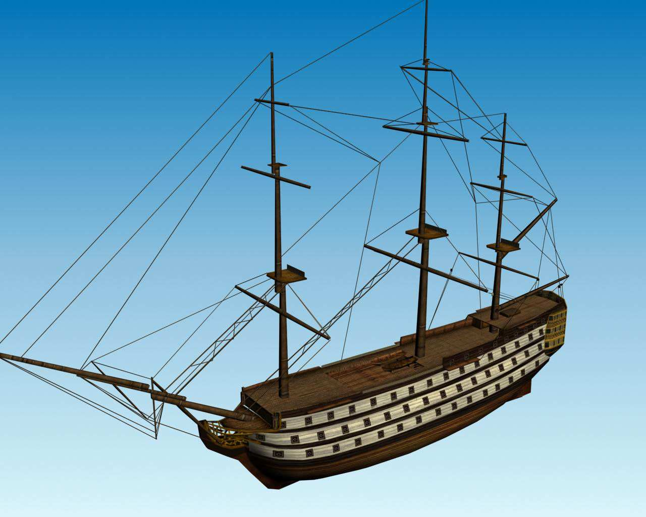 Action Figures Toys Metal Collections For Pirates of the Caribbean Black Pearl Ship Boat 3D Metal Puzzle Laser Cut Puzzles GOLD
