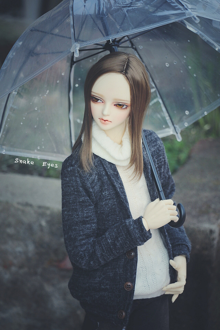 Doll Transparent Umbrella For BJD 1/3 SD10/SD13, SD17,Uncle, IP,SOOM BJD Doll Accessories AC25 fashion bjd doll retro black linen pants for bjd 1 4 1 3 sd17 uncle ssdf popo68 doll clothes cmb67