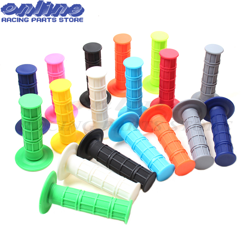 11 colours handle grips Free Shipping Motorcycle Motocross Handlebar Grips Dirt Bike Gel Handle Bar Universal dirt bike pit