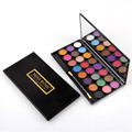24 Cores Smoky Eyeshadow Palette Shimmer Da Sombra de Maquiagem Profissional Cosméticos maquiagem Blush Set com Espelho