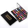 24 de Color Ahumado de Sombra de Ojos Paleta de Maquillaje Profesional paleta de Sombra de Ojos Cosméticos maquillaje Rubor Set con Espejo