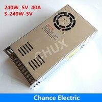 5v Power Supply 110V 220V AC to 5V DC 40A single output 5v Switching Power Supply 240W