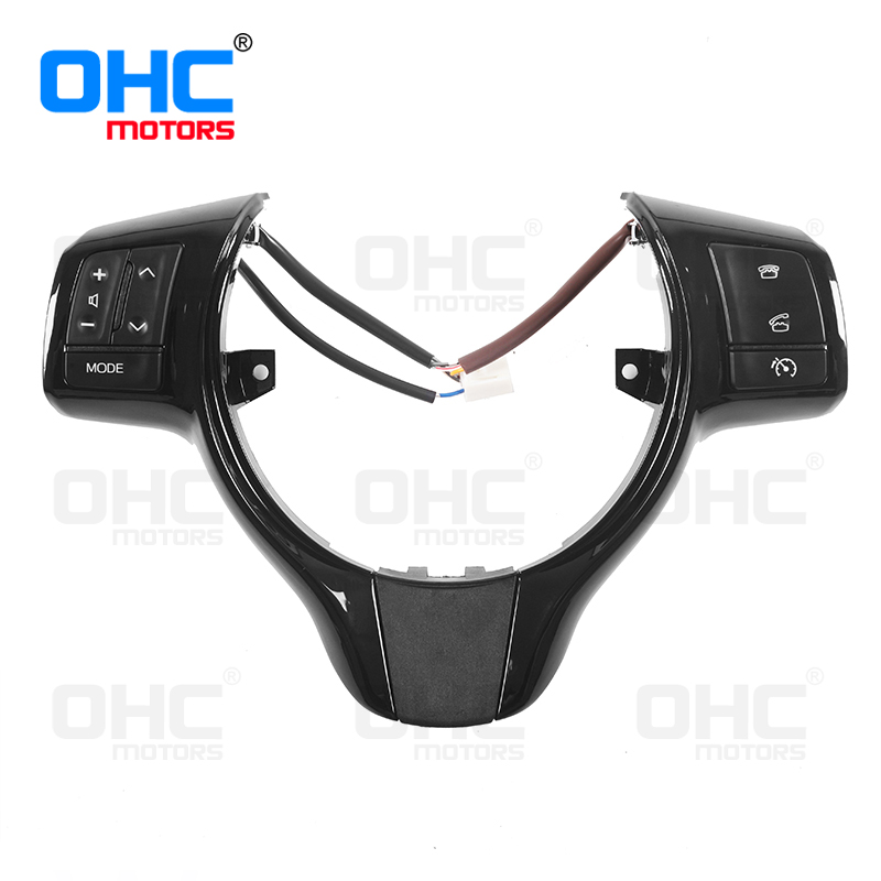 Premier Quality Steering Wheel Switches buttons for Toyota Vitz / Yaris OHC Motors OE Quality