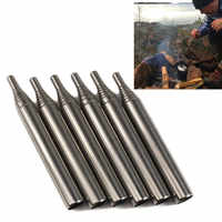Outdoor Bellow Collapsible Fire Tools Kit Camping Survival Blow Fire Tube Emergency Fire Starting Retractable blowpipe