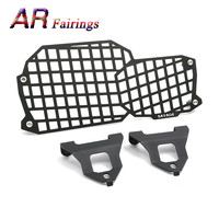 Motorcycle Headlight Lamp Grill Protector Guard Cover For BMW F800GS 2008 2018 / F 800 GS Adventure 2012 2013 2014 2015 16 17 18