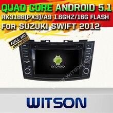 WITSON Android 5.1 Quad Core CAR DVD for SUZUKI SWIFT 2011-2015 GPS RADIO NAVIGATION+1024X600 HD+DVR/WIFI/3G+DSP+RDS+16GB flash