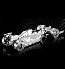 Formula car F101 1:50 Chinese New styles 3D puzzles nano metal model Wholesale price Stainless steel DIY Creative puzzle free