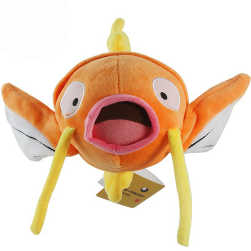 2017 Free Shipping Cartoon Plush Magikarp Plush Toys Anime Stuffed Dolls Soft Figure Toys 22cm Magikarp For Children Gift