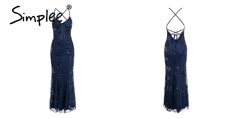 Simplee long party dress 11