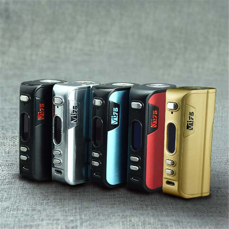 цены  Original Hcigar VT75 Mod Fit for 18650 or 26650 battery Hcigar electronic cigarette box mod Vape DNA75 chip 75w Free Shipping