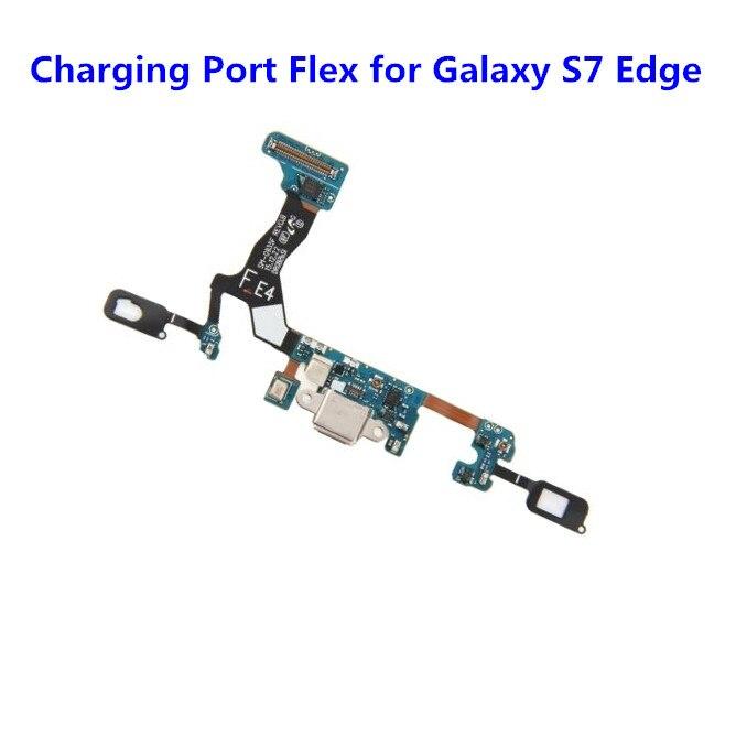 Véritable Nouveau Port de Charge Flex pour Samsung Galaxy S7 Bord G935 G935F USB Dock Connecteur Flex Câble Ruban Pièce De Rechange