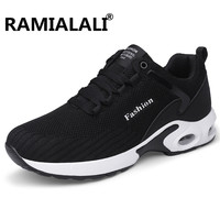 Ramialali Outdoor Sports Air Cushion Running Shoes Breathable Mens Sneakers Shoes Couple Walking Sport Shoes Male Footwear