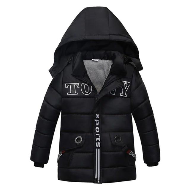 9a8142f9845d 2018 New Baby Winter Coat Kids Warm Winter Outerwear Hooded fashion Children  Down Jackets Boys Girls