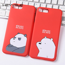 Bears Couples Phone Case For Apple iPhone 8 7 6S 6 Plus Cute Lovers