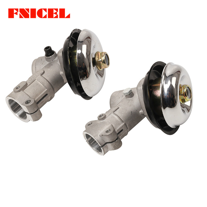 26/28mm Brush Grass Cutter Trimmer Replace Gearhead Gearbox Square Rod Universal Gear Head Lawn Mower Replacement Part