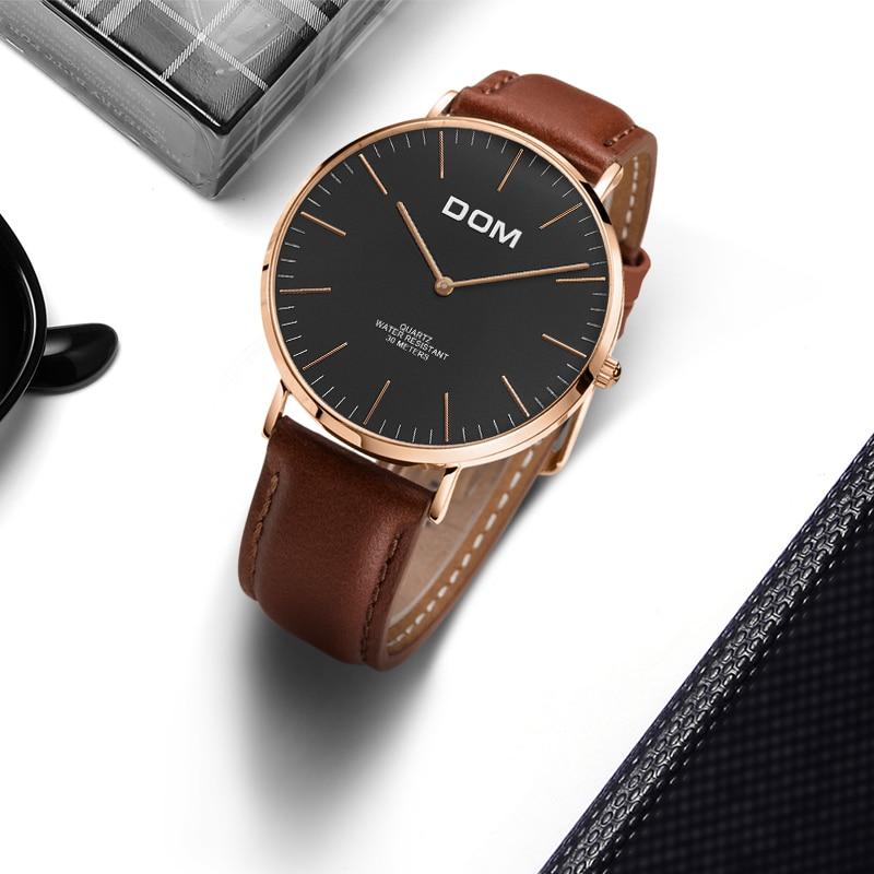 Męskie Zegarki DOM Marka Luksusowy zegarek Kwarcowy Casual zegarek - Męskie zegarki - Zdjęcie 3