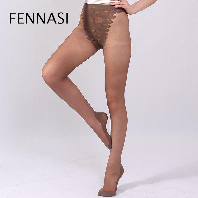 Fashion Womens Lady Girls Black Fishnet Pattern Jacquard Stockings Pantyhose Tig