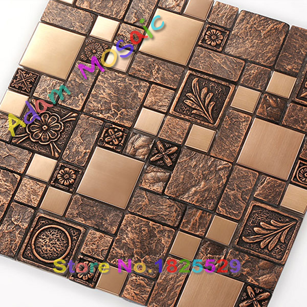 Aliexpress.com : Buy dark brown ceramic tile kitchen backsplash vintage porcelain ...