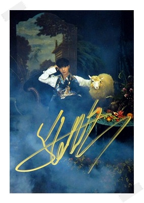 signed EXO LAY autographed photo K-POP  6 inches free shipping 102017A signed infinite jang dongwoo dong woo autographed photo k pop 6 inches free shipping 102017