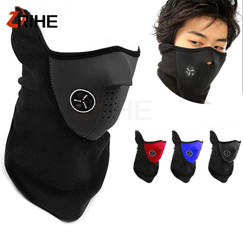 Sports Accessories Lovely Winter Warm Face Masks Women Men Bike Sport Riding Cycling Anti Dust Cycling Face Masks Veil Guard